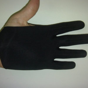 Black Guitar Glove
