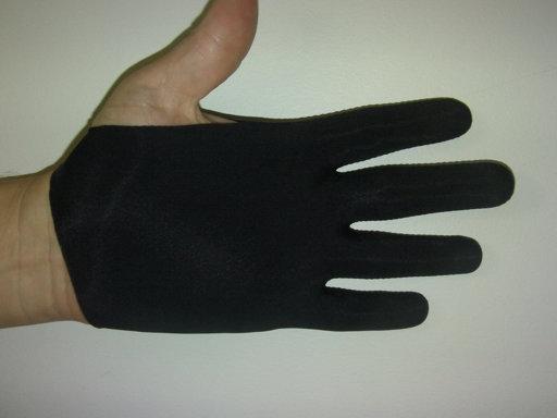 Black Guitar Glove