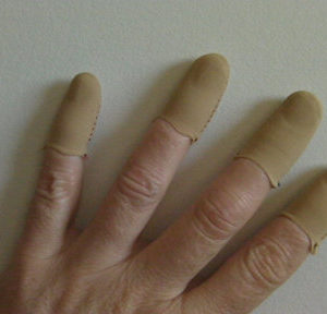 Flesh Guitar Fingers