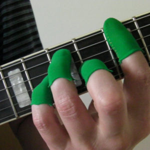 Green Original Guitar Fingers