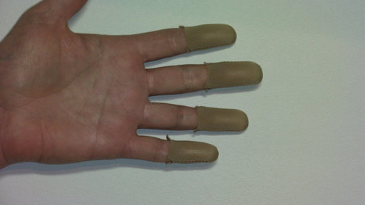 Light Brown Fingers