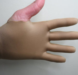 Light Brown Guitar Glove