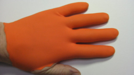 Orange Guitar Glove