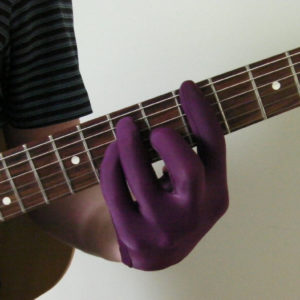 Playing Original Guitar Glove