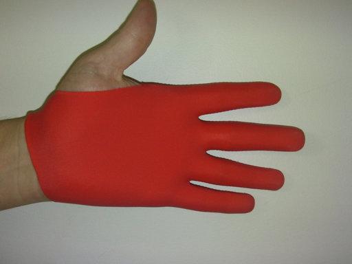 Red Guitar Glove